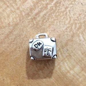 Pandora Adventure Suitcase Charm